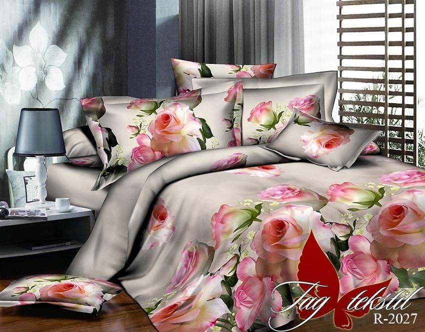 Комплект постельного белья из натурального ранфорса R2027