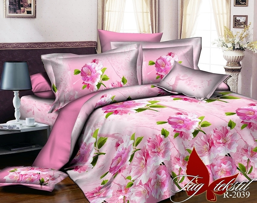 Комплект постельного белья из натурального ранфорса R2039