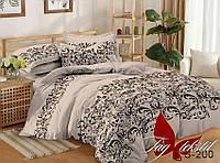 Комплект постельного белья из натурального сатина с компаньоном S200