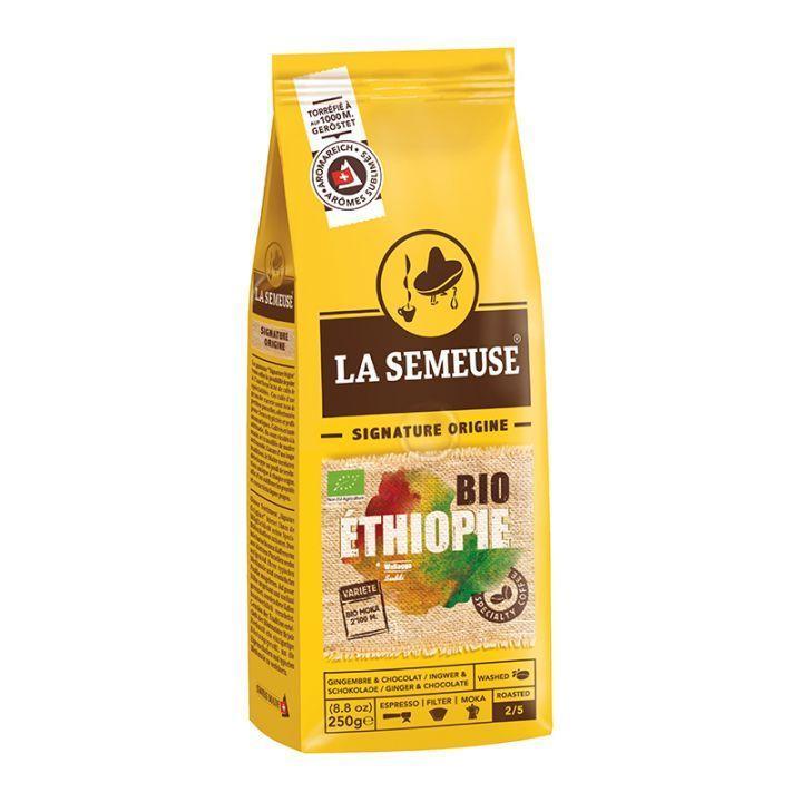 Кофе в зернах La Semeuse Ethiopie Suddi Organic 250 г