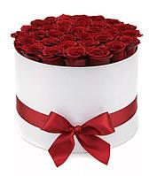 """Коробка с розами """"Цвет Страсти"""""""