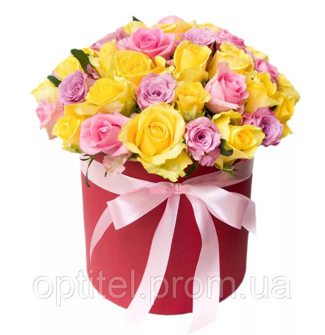 """Коробка с розами """"Вечность"""""""