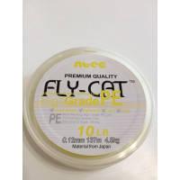 Шнур NTEC Fly Cat 137м 0,12 10lb yellow