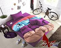 Комплект постельного белья из натурального поплина Color mix ec43257599033