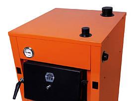 Котел твердотопливный Донтерм ДТМ Стандарт / DTM Donterm Standart 13 кВт, фото 3