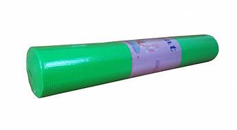 Коврик для йоги (йогамат) MS1847(Pink) Розовый ПВХ, 173-61см,толщина4мм,в кульке,61-10см ((Зелёный))
