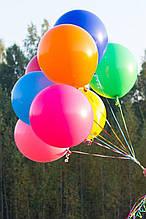 Большой шар 18 дюймов  с Гелием (цвет на выбор)