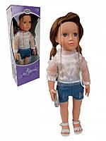 Интерактивная кукла Тина 48см, муз,звук(укр),песня,стих, бат(таб) +ПОДАРОК