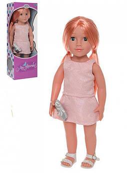 Интерактивная кукла Ника UA 48см, муз,звук(укр),песня,стих, бат(таб), в кор-ке,50-18-12,5см +ПОДАРОК