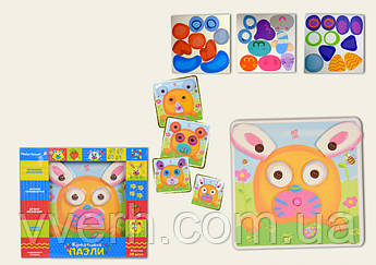 Детская мозаика-пазлы детские KI-7063
