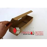 Коробка картонная 275 х 80 х 55 мм, самосборная