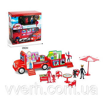 Набор игровой автобус-домик PC-639