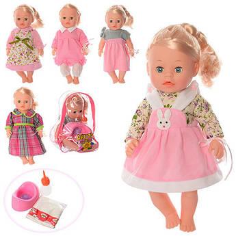 Кукла Анюта функциональная с аксессуарами 3008E