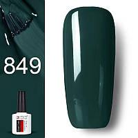 Гель лак GDCOCO 8мл. 849 зеленый бутылочный