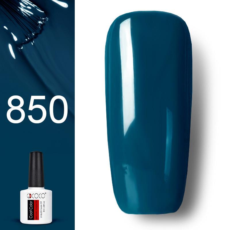 Гель лак GDCOCO 8мл. 850 цвет морской волны