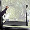 9091 K&H Pet Products Лежак на окно, серый