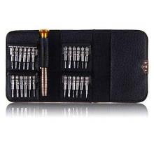 Гаманець - Набір викруток 25 в 1 для розтину і ремонту телефонів і планшетів