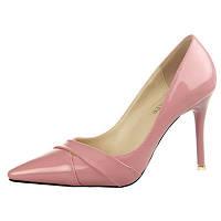 Лакированные туфли  каблук 9 см  6 цветов, фото 1