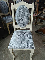 Стул деревянный ЭЛИТ белый или цвета слоновой кости