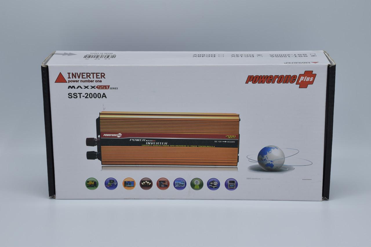 Автомобильный инвертор Powerone+ 24-220V / 1500W автомобильный преобразователь Powerone+ 24-220V / 1500W
