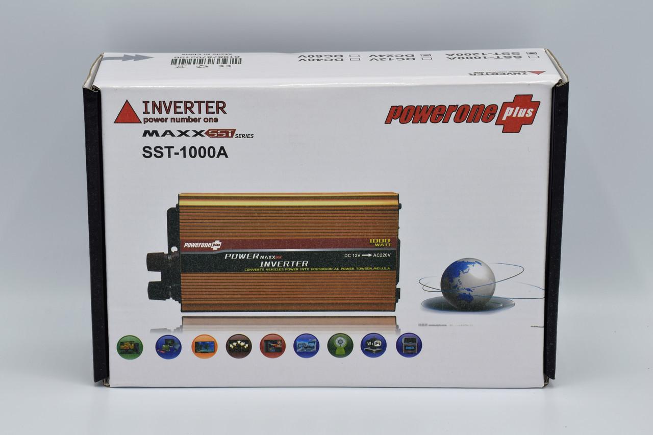 Автомобильный инвертор Powerone+ 24-220V / 1200W автомобильный преобразователь Powerone+ 24-220V / 1200W