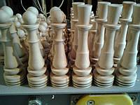Фигуры шахматные, фишки игральные для нард и шашек на заказ