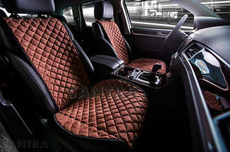 Накидки/чехлы на сиденья из эко-замши Мазда СХ 7 (Mazda CX-7)