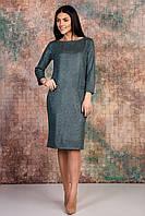 Замшевое платье на пуговицах  Размер  46 48 50 52