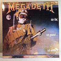 CD диск Megadeth - So Far, So Good… So What!