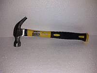 Молоток-цвяходер 340г, ручка з скловолокна Сталь