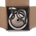 Набор кладоискателя для НАЧИНАЮЩИХ - поисковый магнит НЕПРА 2F200+сумка+20м трос+карабин, фото 5