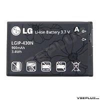 Аккумулятор LG A130 / A258 / GM360 Viewty Snap / GS290 Cookie Fresh / GU280 / GW300 / GW370 Neon 2 / KF301 /