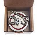 Туристический набор для профессионалов - поисковый магнит НЕПРА 2F400+сумка+20м трос+карабин, фото 10