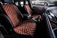 Накидки/чехлы на сиденья из эко-замши Мицубиси Паджеро Спорт Новый (Mitsubishi Pajero Sport New), фото 1