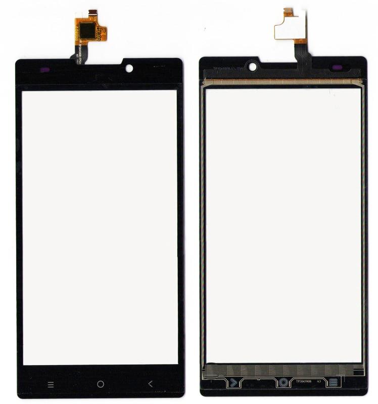 Сенсорный экран (тачскрин) Nomi i508 Energy Black