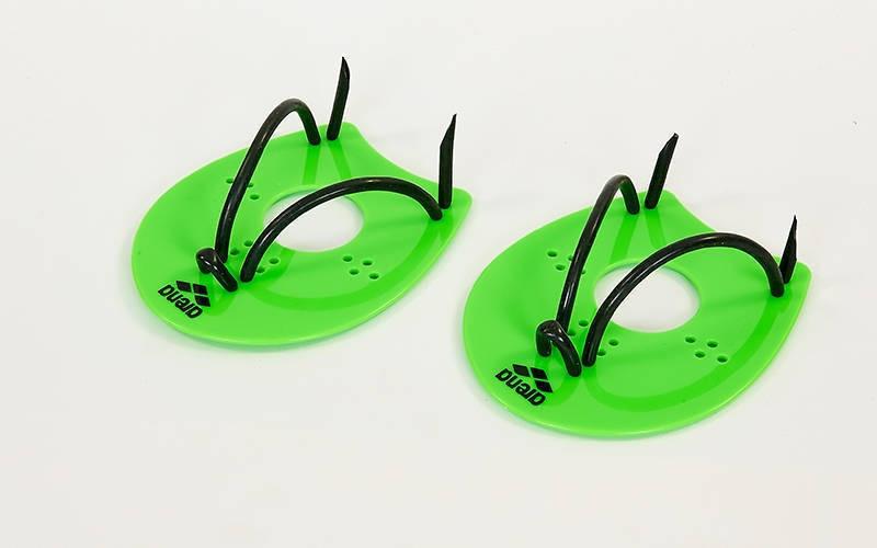 Лопатки для плавання гребні ARENA зелені (розмір M) AR95250