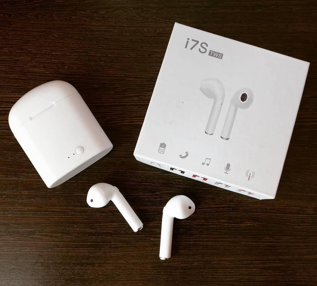 Беспроводные наушники HBQ i7S TWS С Павер Банком Bluetooth 4.2 +EDR копия Air Pods, фото 1