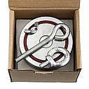 Набор ОПЫТНОГО КАМРАДА - поисковый магнит НЕПРА 2F600+сумка+20м трос+карабин, фото 10