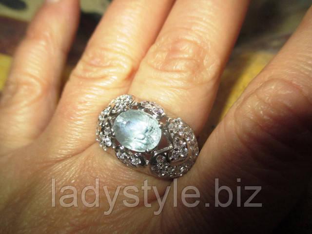 купити срібне кільце перстень з натуральним олександритом прикраси