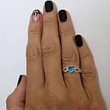 Серебряное кольцо с сердцем, фото 9