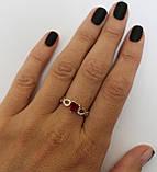 Серебряное кольцо с сердцем, фото 10