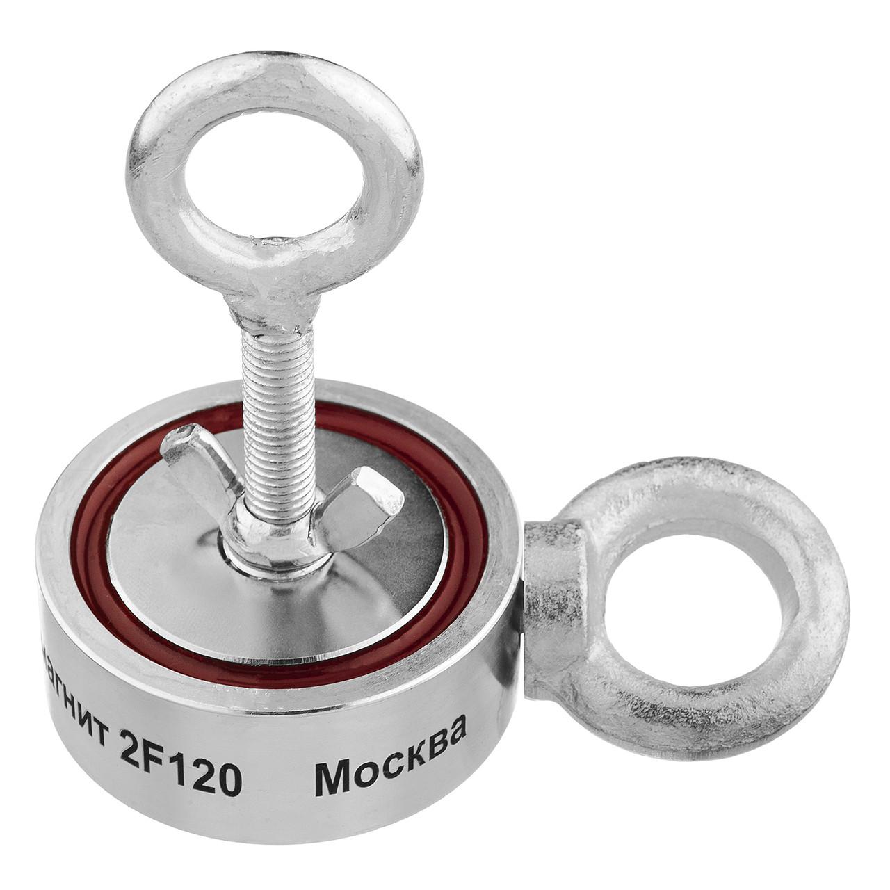 Поисковый неодимовый магнит НЕПРА 2F120 двухсторонний, ОРИГИНАЛ в УКРАИНЕ!