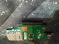 Плата HDD+ картридер, разъем HDD ASUS X5DAF