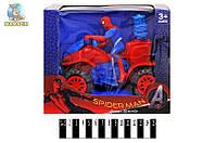 """Квадроцикл """"Spiderman"""" инерционный"""