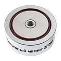 Поисковый неодимовый магнит Непра 2F200 двухсторонний, ТЕПЕРЬ В УКРАИНЕ!, фото 6