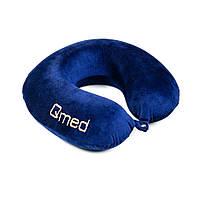 Ортопедическая подушка с эффектом памяти для путешествий TRAVELLING Qmed КМ-10