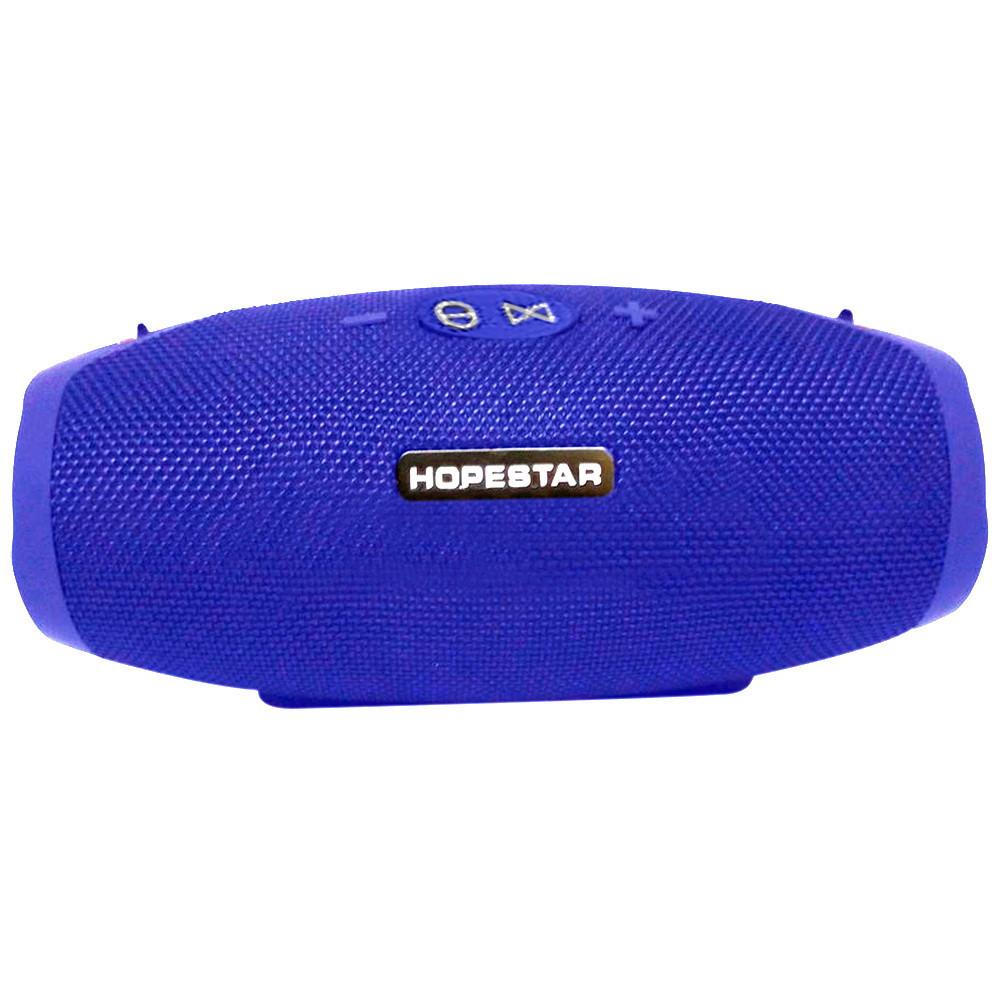Портативная Bluetooth колонка HOPESTAR H26 (Синяя)  + ПОДАРОК: Настенный Фонарик с регулятором BL-8772A