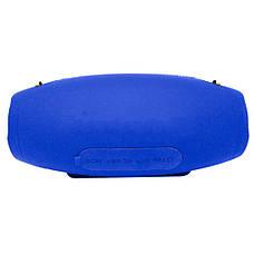 Портативная Bluetooth колонка HOPESTAR H26 (Синяя)  + ПОДАРОК: Настенный Фонарик с регулятором BL-8772A, фото 3