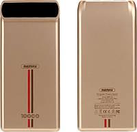 Портативная батарея Remax Power Bank Kincree RPP-18 10000 mah Gold