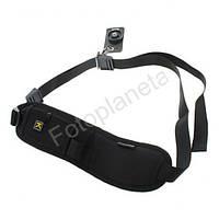 Ремень наплечный универсальный для фотоаппаратов (ремень через плече) с карабином